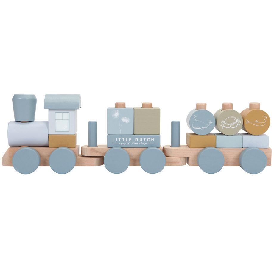 train a bloque little dutch ocean