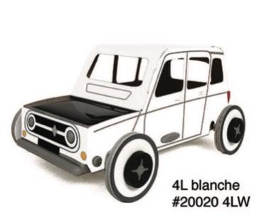 autogami 4L blanche