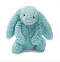 bashful bunny aqua