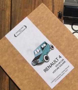 renault 4L autogami