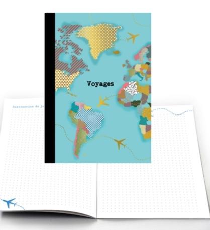 cahier voyage