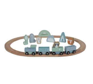 circuit train bleu little dutch
