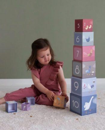 cube à empiler carton little dutche