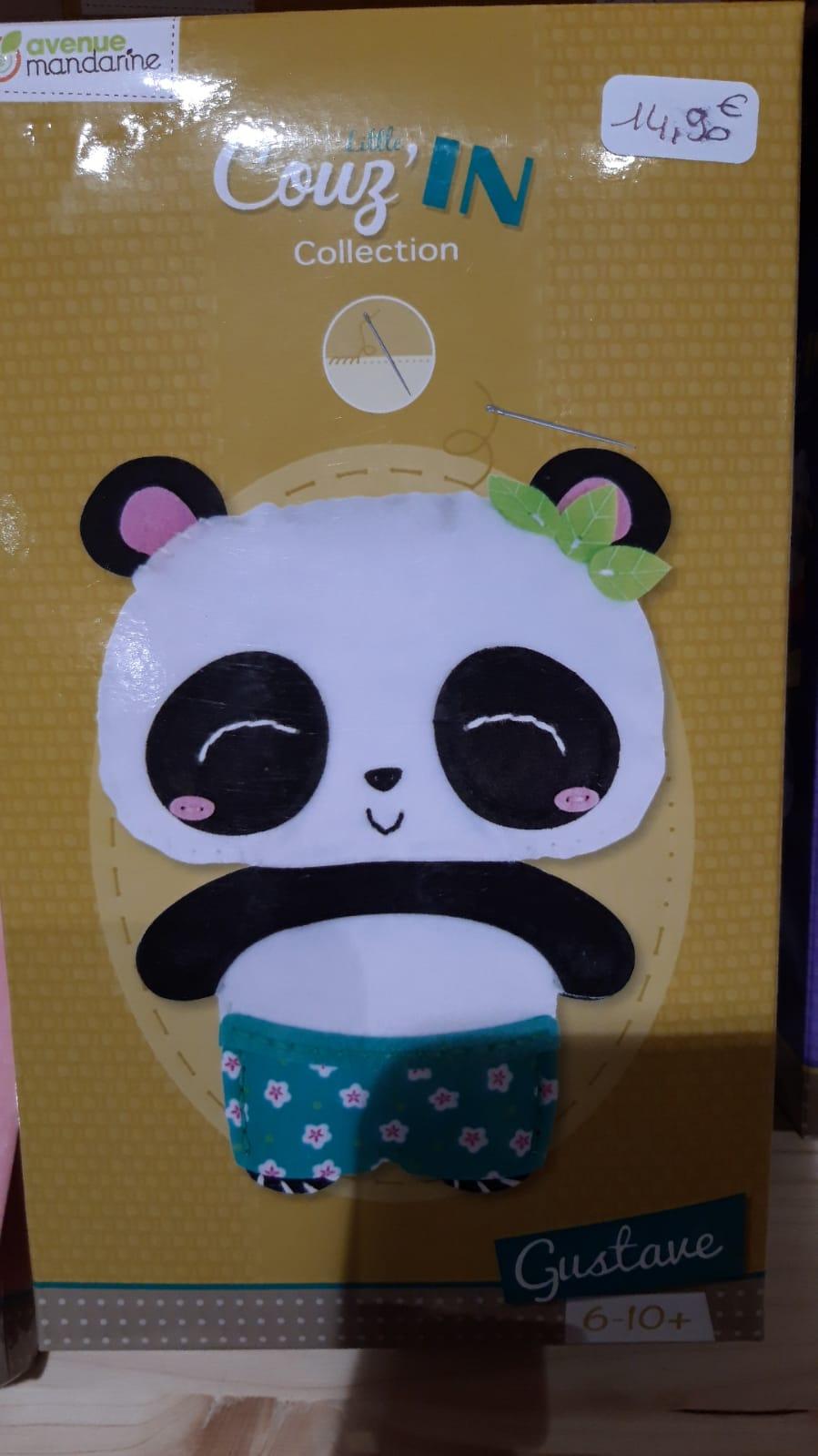panda à coudre