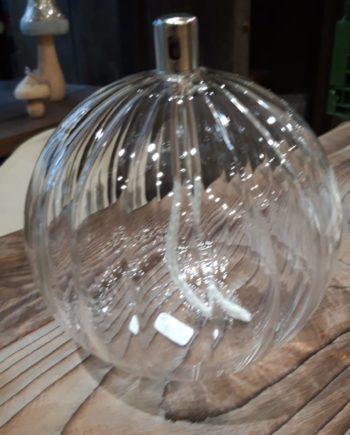 lampe à huile striée