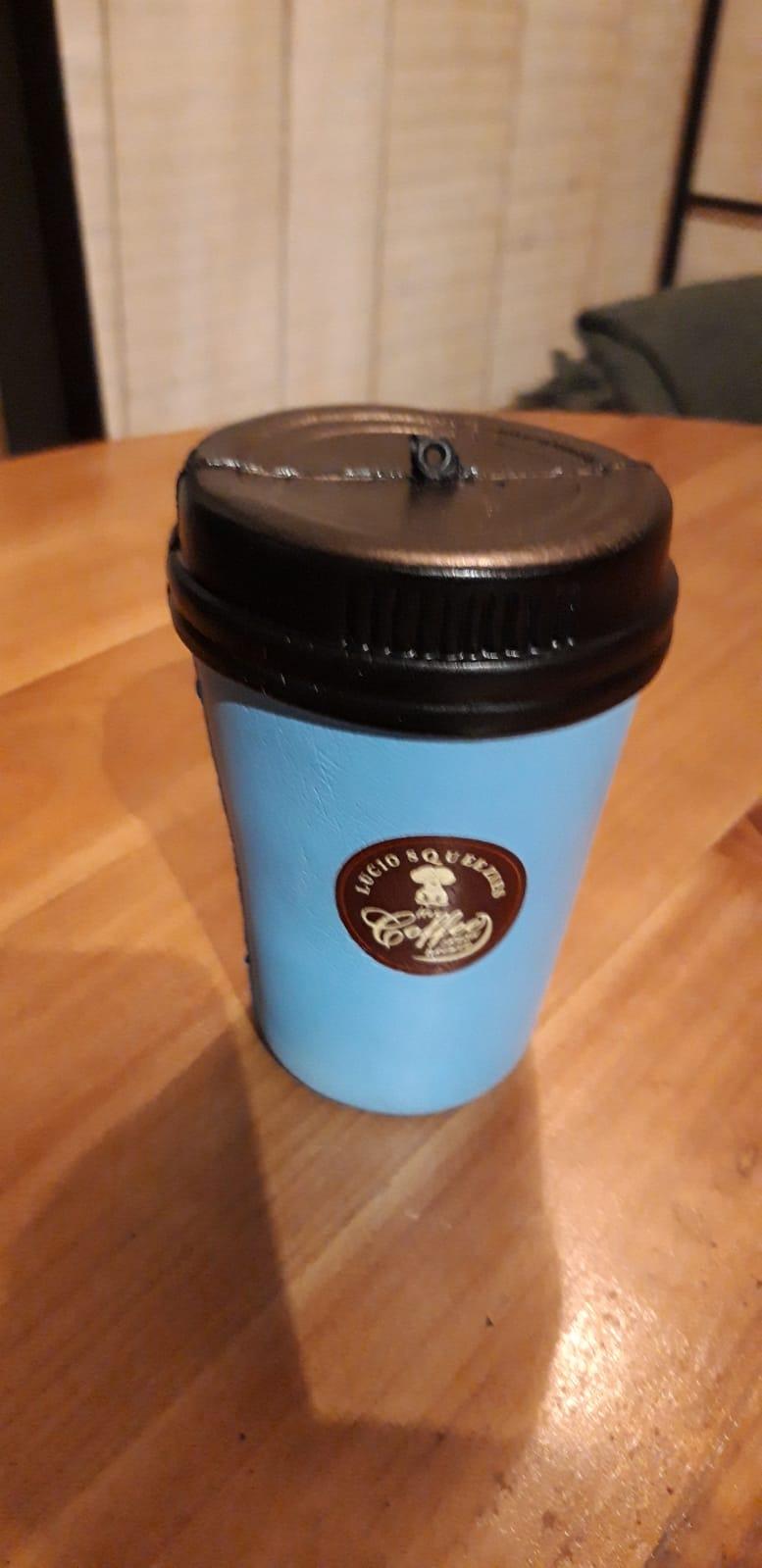 anti stress chocolat blue