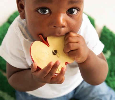anneau de dentiton la pomme