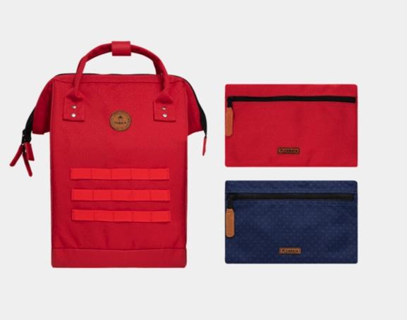 sac à dos cabaia rouge