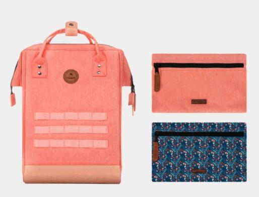 sac à dos orange cabaïa