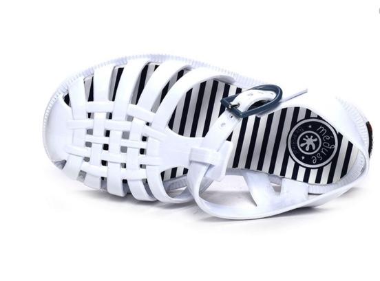 sandalette enfant blanche