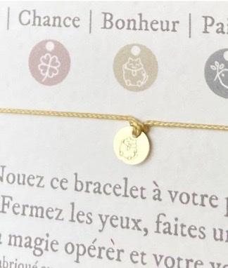 bracelet bonheur les mots doux
