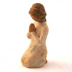 statue prière