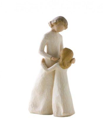 statue mère fille