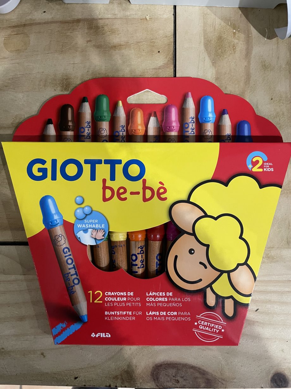 crayons de couleur giotto