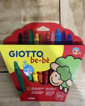 crayons cire giotto
