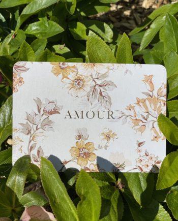 carte postale nude amour doré