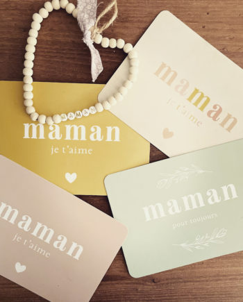 carte postale maman