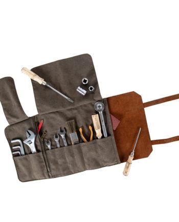 trousse à outils kaki