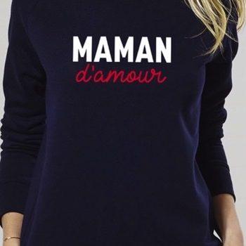maman d'amour sweat